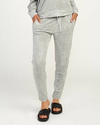 0 Whisper Fleece Pant Grey WL11TRWP RVCA