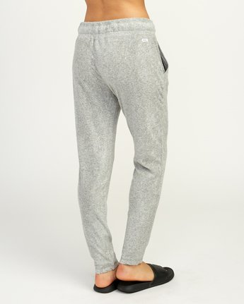 5 Whisper Fleece Pant Grey WL11TRWP RVCA
