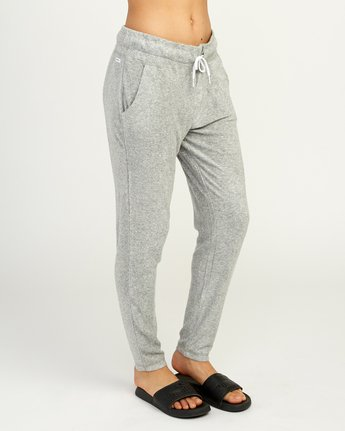 6 Whisper Fleece Pant Grey WL11TRWP RVCA