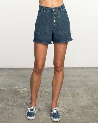 0 No Age High-Waisted Denim Shorts  WL201NOA RVCA