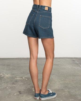 2 No Age High-Waisted Denim Shorts  WL201NOA RVCA