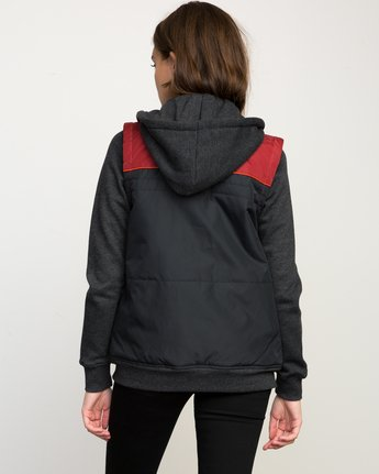 2 Former Colorblocked Jacket  WLFF04FO RVCA