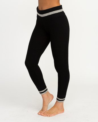 1 Loomed Knit Leggings  WLL02LOM RVCA