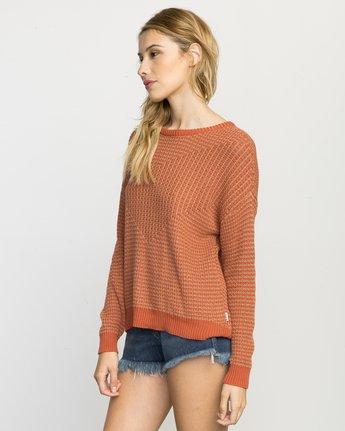 2 Light Up Knit Sweater Pink WLVV02LI RVCA