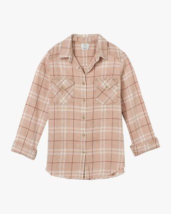 5 In A Haze Plaid Flannel Shirt Multicolor WM506INA RVCA