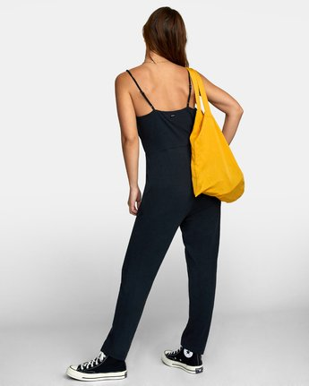 4 CITRA KNIT JUMPSUIT Black WN101RCI RVCA