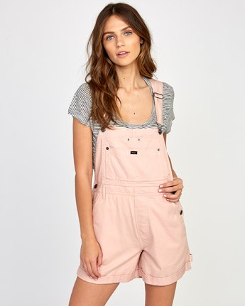 0 Sloucher Overall Pink WN31VRSL RVCA
