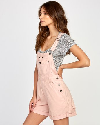 1 Sloucher Overall Pink WN31VRSL RVCA