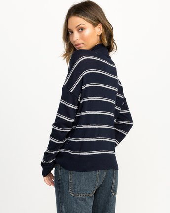 2 Armed Striped Sweater  WV01QRAR RVCA