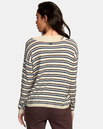 1 Abundant Lightweight Sweater Brown WV01WRAB RVCA
