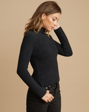 2 Oracle Ribbed Sweater  WV02SROR RVCA