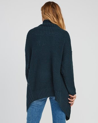 2 This Is It Oversized Knit Cardigan  WV04SRTH RVCA