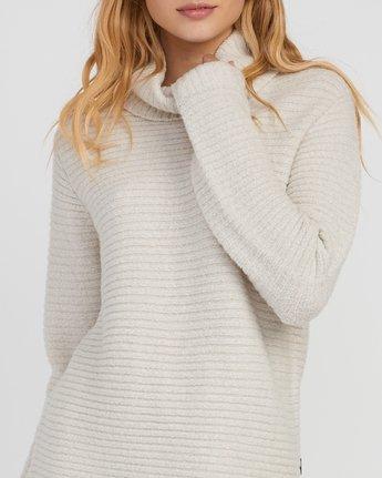 3 Jinx Knit Tunic Sweater Brown WV06SRJI RVCA
