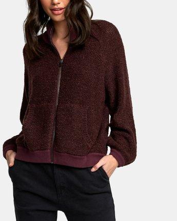 3 Erratic Zip-Up Knit Sweater  WV06WRER RVCA