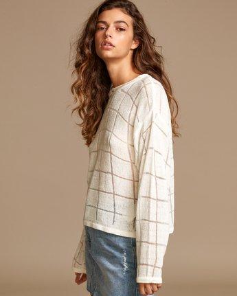 1 Range Lightweight Knit Sweater White WV07VRRA RVCA