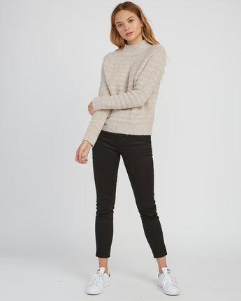 4 Mystars Knit Sweater Brown WV08SRMY RVCA