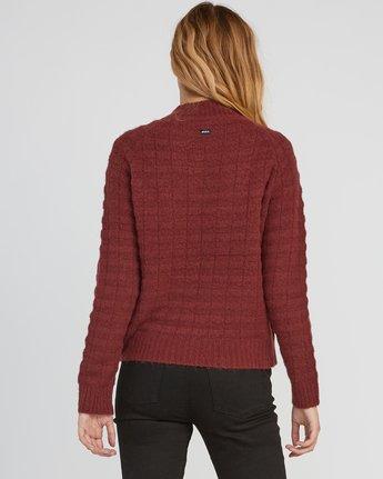 2 Mystars Knit Sweater  WV08SRMY RVCA