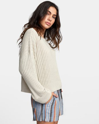 2 SYDNEY SWEATER Brown WV093RSY RVCA