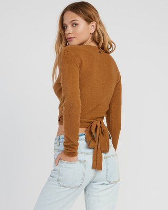 2 The Fuz Wrap Sweater  WV10SRTF RVCA