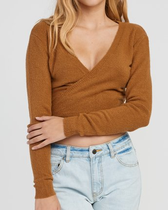 3 The Fuz Wrap Sweater  WV10SRTF RVCA