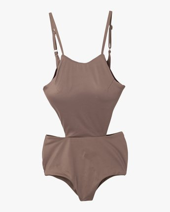 5 Solid One Piece Swimsuit  X101NRSO RVCA