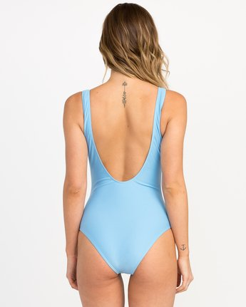 2 Shark One Piece Swimsuit Blue X102PRSO RVCA