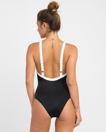 2 Real Talk One Piece Swimsuit Black X103NRPO RVCA