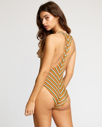 2 Retro Row Medium One Piece Brown X120VRRO RVCA