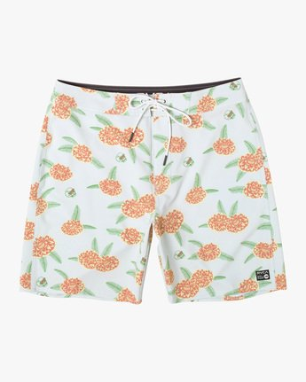 "Luke P Floral 18"" - Recycled Swim Shorts for Men  X1BSRCRVS1"