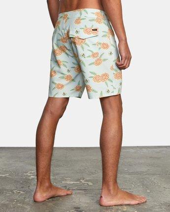 """6 Luke Pelletier Floral 18"""" - Short de bain en matière recyclée pour Homme  X1BSRCRVS1 RVCA"""