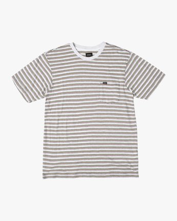 Toluca Micro Stripe - Short Sleeve Top for Men  X1KTRERVS1