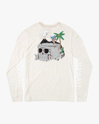 Luke Pelletier Skull Bowl - Long Sleeve T-Shirt for Men  X1LSRBRVS1