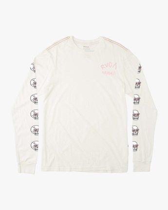 Luke Pelletier Skull Shred - Long Sleeve T-Shirt for Men  X1LSRCRVS1