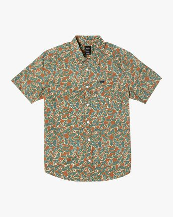 Mind Flower Paisley - Short Sleeve Shirt for Men  X1SHRCRVS1