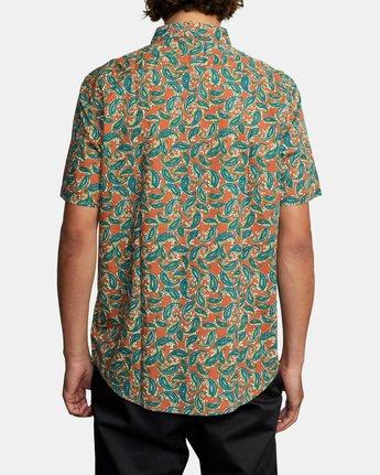 Mind Flower Paisley - Short Sleeve Shirt for Men  X1SHRCRVS1
