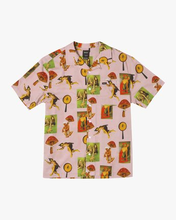 Trippy Dana - Short Sleeve Shirt for Men  X1SHRIRVS1
