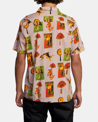 Trippy Dana - Short Sleeve Shirt for Men  X1SHRIRVS1
