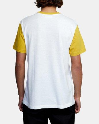 Evan Mock Tourist Blocked - Short Sleeve Top for Men  X1SSRSRVS1