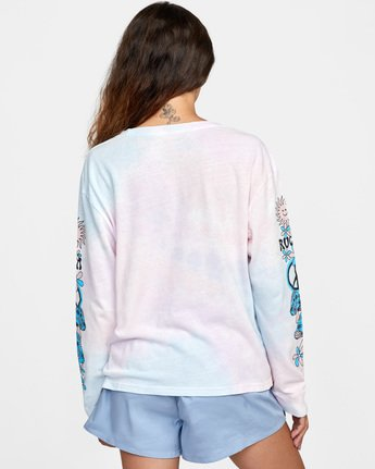 Peace - Long Sleeve T-Shirt for Women  X3LSRARVS1
