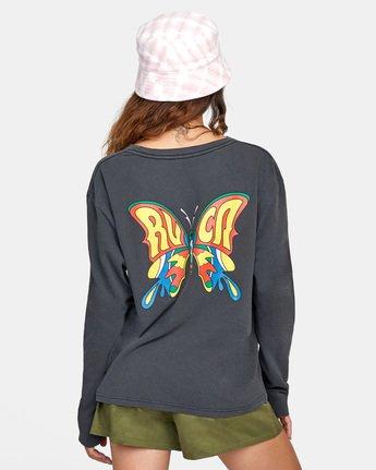 Swallowtail - Long Sleeve T-Shirt for Women  X3LSRBRVS1