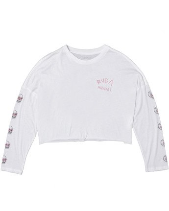 Luke Pelletier Skull Shred - Long Sleeve T-Shirt for Women  X3LSRDRVS1