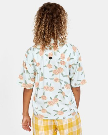 Luke Pelletier Floral - Short Sleeve Shirt for Women  X3SHRCRVS1