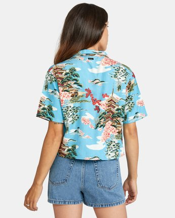 Vacay - Recycled Short Sleeve Shirt for Women  X3SHRERVS1