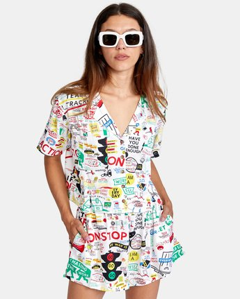 Espo Vacay - Short Sleeve Shirt for Women  X3SHRFRVS1