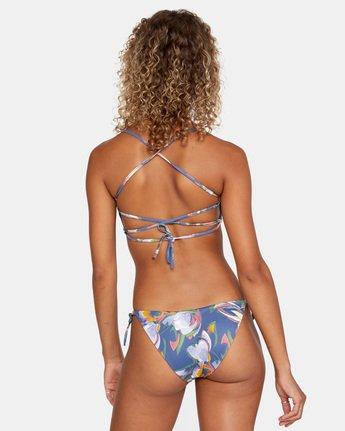 1 Pixie Crossback - Recycled Bikini Top for Women Blue X3STRORVS1 RVCA