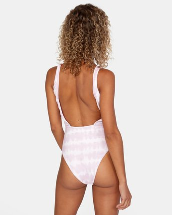 Live And Let Dye - One-Piece Swimsuit for Women  X3SWRBRVS1
