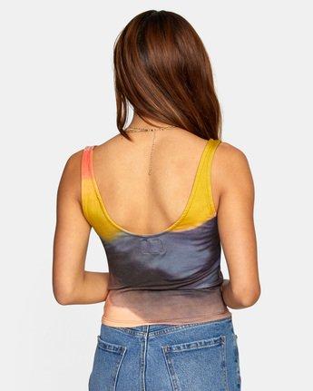Trippy Dana Westward Tie Dye - Vest Top for Women  X3TPRHRVS1