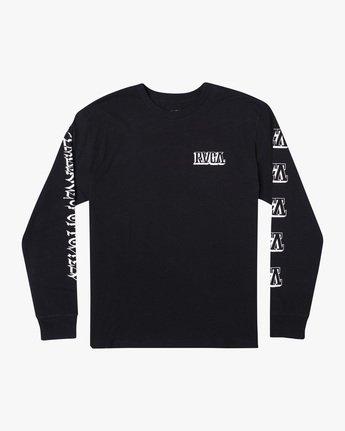 Defer Block - Long Sleeve T-Shirt for Men  X4LSMARVS1