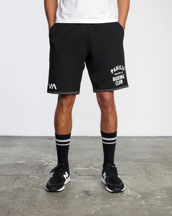 1 VA Sport - Performance Training Shorts for Men Black X4WKMIRVS1 RVCA