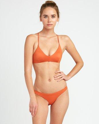 2 Solid Skimpy Bikini Bottom Yellow XB01TRSS RVCA